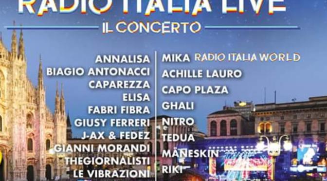 Ecco il Cast di Radio Italia Live – Il Concerto.