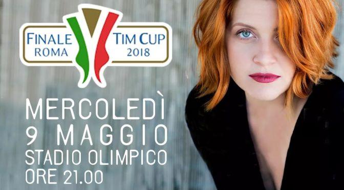 Noemi canterà l'Inno di Mameli per la finale di coppia Italia