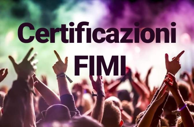 Certificazioni Fimi, settimana 46. Presenti Amoroso, Salmo, Ultimo. Il rap continua a dominare.