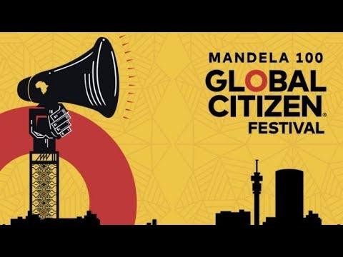 Global Citizen Festival, il concerto per i 100 anni di Mandela