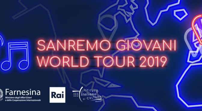 Sanremo Giovani in World Tour con i finalisti 2018.