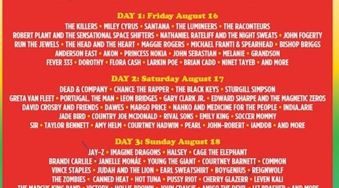 Woodstock 50, tutti gli artisti che si esibiranno