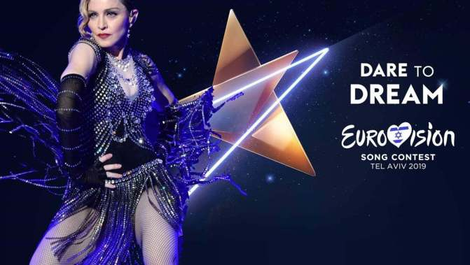 Madonna super ospite dell'Eurovision song contest  2019