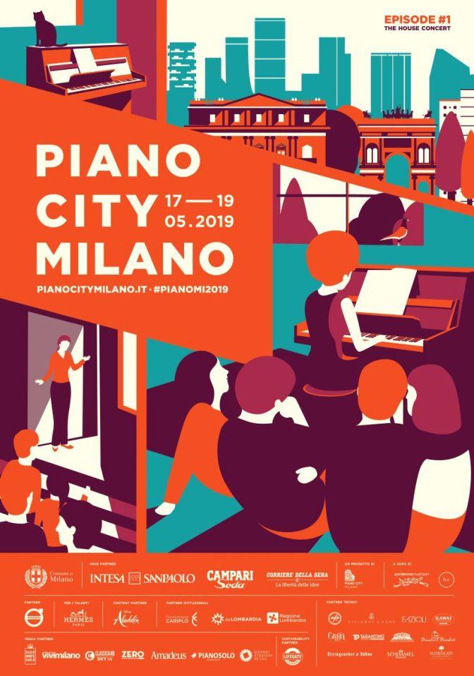 PIANO CITY MILANO 2019: il programma completo degli eventi del festival di pianoforte che si terrà nel capoluogo lombardo dal 17 al 19 maggio.