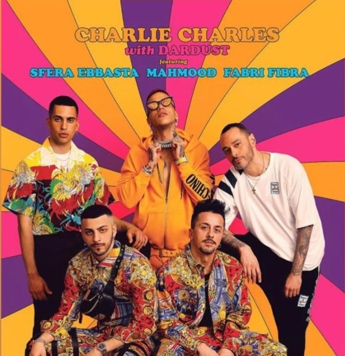 'Calipso': il nuovo singolo di Charlie Charles con Dardust, Fabri Fibra, Mahmood e Sfera Ebbasta