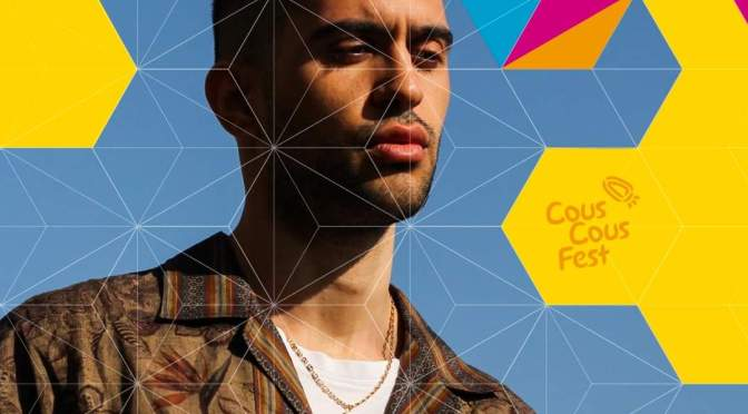 Mahmood, il vincitore del Festival di Sanremo, in concerto al Cous Cous Fest.