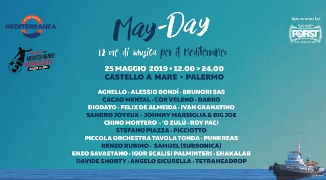 May-Day,Brunori, Silvestri, Samuel e tanti altri. A Palermo la maratona per i diritti umani.