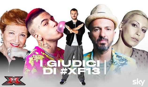 Ecco i nuovi giudici di X Factor: Malika Ayane, Samuel e Sfera Ebbasta insieme a Mara Maionchi