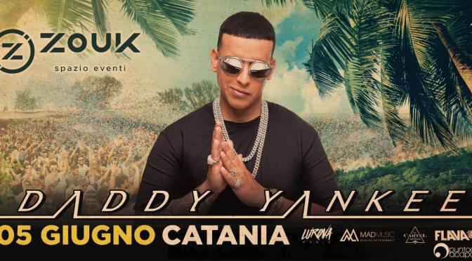 DADDY YANKEE al Lido Azzurro CATANIA – Il re del reggaeton per la prima volta in Sicilia