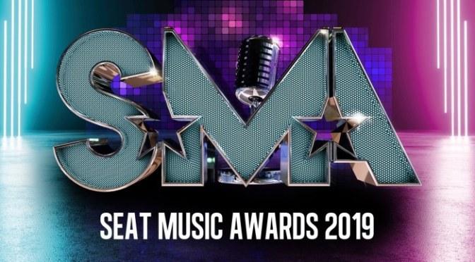 SEAT MUSIC AWARDS 2019: domani e giovedì 6 giugno in onda in prima serata su Rai 1. Conducono CARLO CONTI e VANESSA INCONTRADA