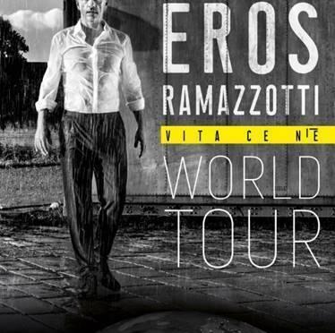 EROS RAMAZZOTTI – L'11 LUGLIO DA LOCARNO RIPARTE IL TOUR DEI RECORD