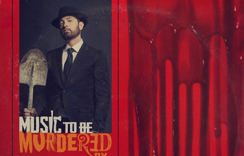 "EMINEM: USCITO QUESTA NOTTE A SORPRESA IL NUOVO ALBUM ""MUSIC TO BE MURDERED BY"""
